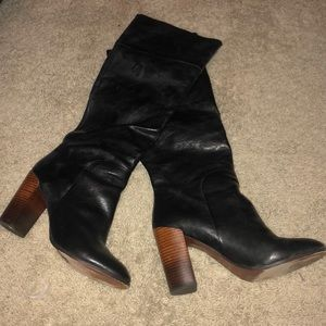 Dolce Vita Heeled Leather Boots
